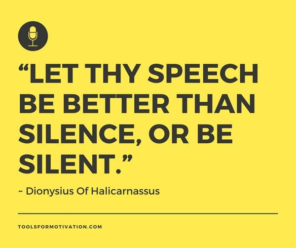 Public Speaking Quotes Tools For Motivation