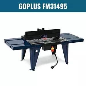 Goplus Electric Aluminum Router Table