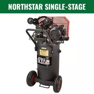 NorthStar Single-Stage Portable Electric Air Compressor