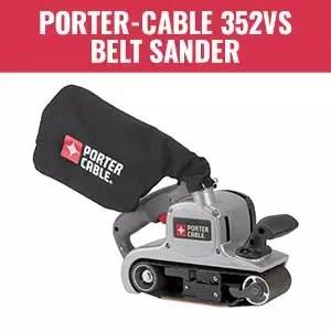 PORTER-CABLE 352VS Belt Sander with Dust Bag
