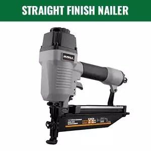 Straight Finish Nailer