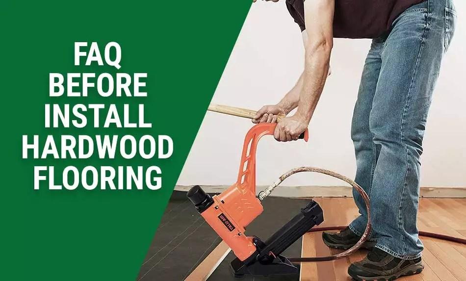 Installing Hardwood Flooring