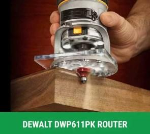 dewalt DWP611PK fixed pluge router