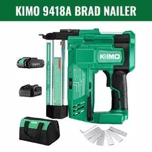 KIMO 20V 18 Gauge Cordless Brad Nailer