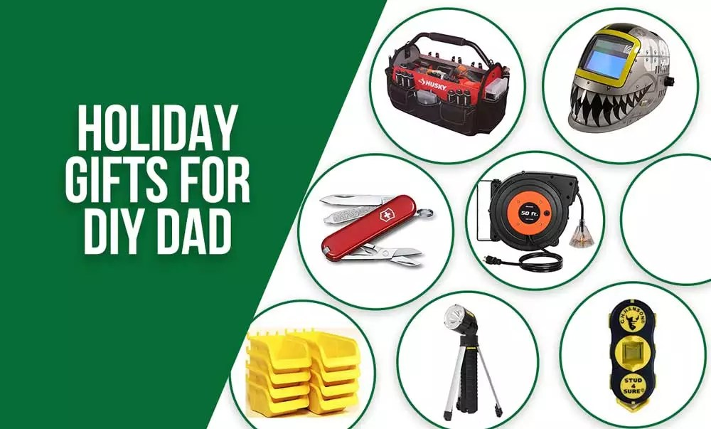 Holiday Gift Guide For DIY Dad