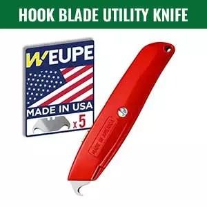 Hook blade utility knife