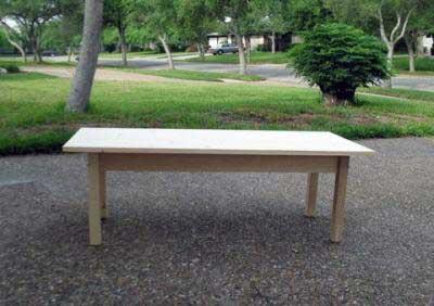 2×4 Coffee Table