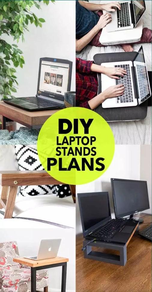 DIY Laptop Stands