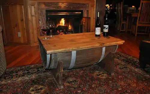 Epic Upcycled Barrel Table