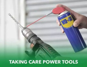 taking care power tools