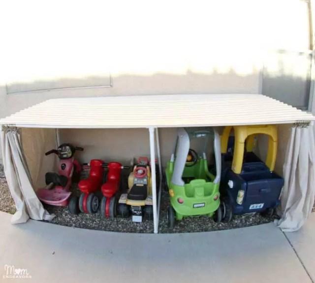 Covered Kiddie Parking Garage