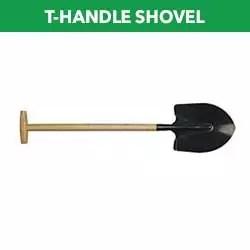 T-Handle shovel