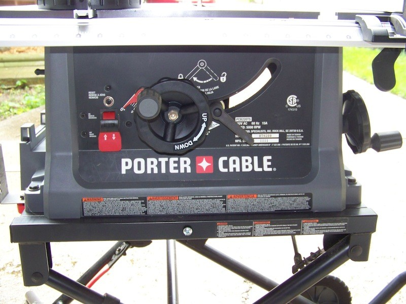 Porter Cable Table Saw Blade Won T Raise