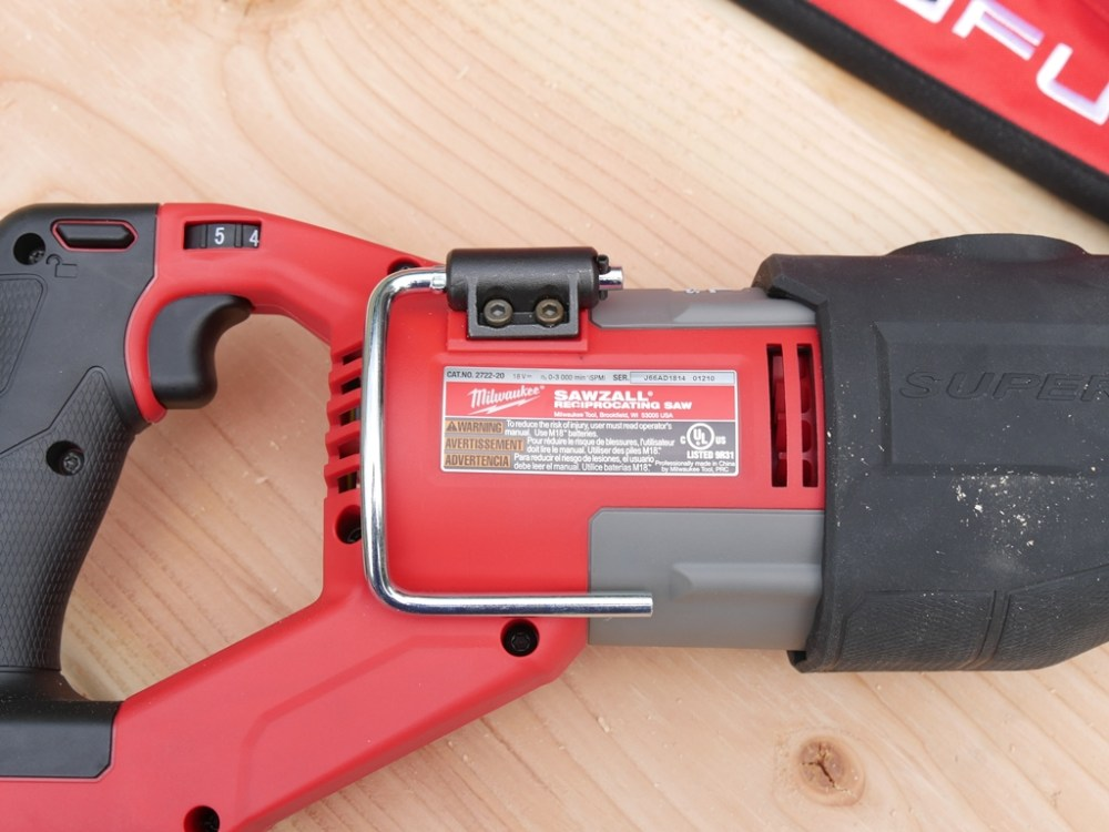 medium resolution of milwaukee super sawzall 2722 review
