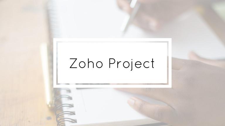 Zoho Project Portfolio