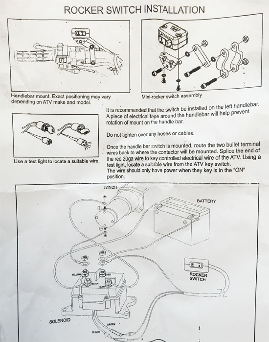 harbor freight 12000 winch wiring diagram 1990 jeep wrangler install badlands 12 000 lb toyskids co badland 3500 33 00
