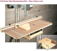 DIY Shopnotes Drill Press Table Plans Wooden PDF kitchen ...