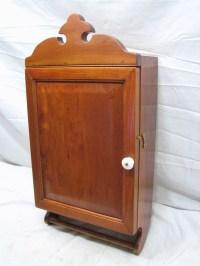 Antique Wooden Bathroom Medicine Wall Kitchen Spice ...