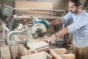 men working with Circular Saws