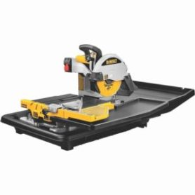 DEWALT 1.5-Horsepower 10-Inch Wet Tile Saw