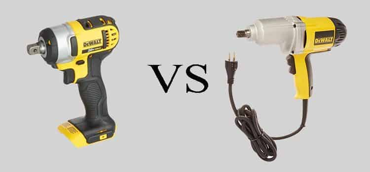Cordless Vs Corded Impact Wrench