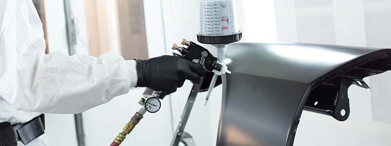 advantages of electrostatic spray painting
