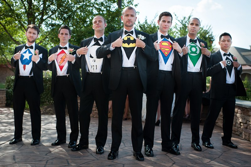 Pic Post Groomsmen, Great Dad Skills And Geekery  Too