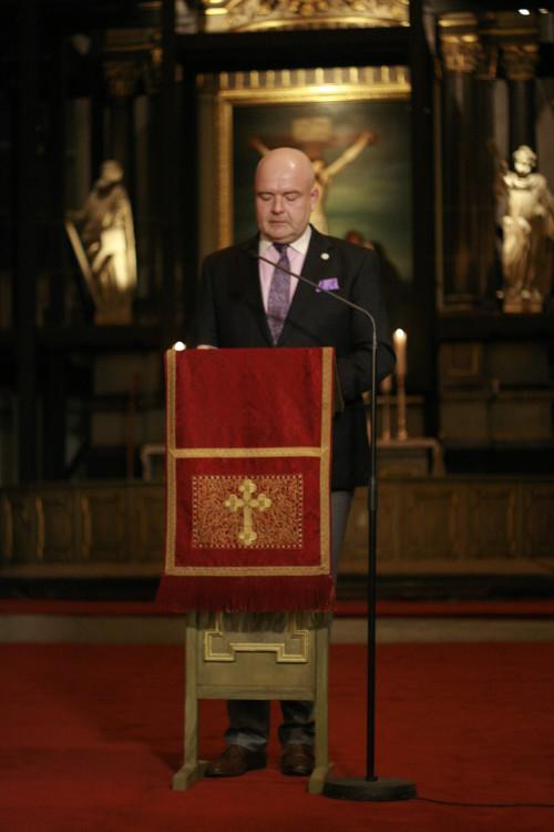 Tervituseks sõnad lausub Eesti Vabariigi siseminister Andres Anvelt