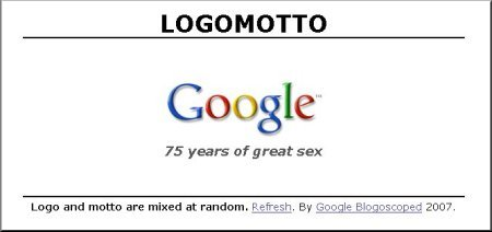 Google - 75 years of great sex