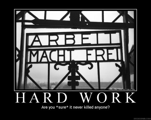 Demotivational: hard-work