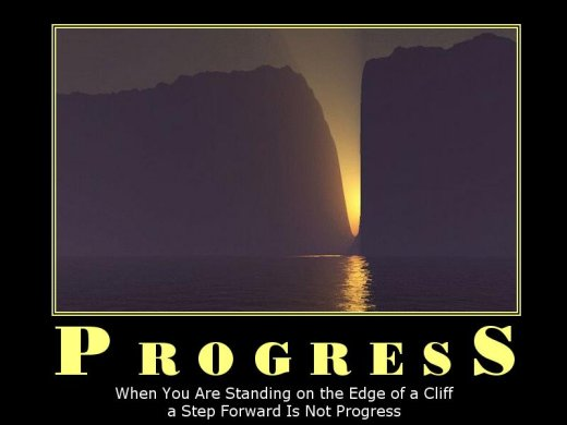 Demotivational: progress