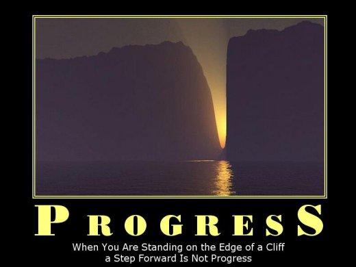 Demotivational: progress