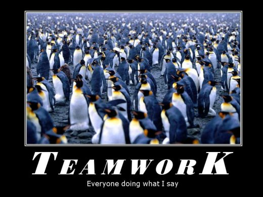 Demotivational: teamwork