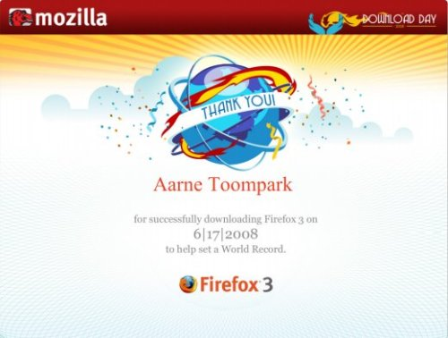 Firefox download sertifikaat