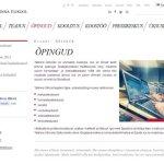 TLÜ veebi valdkondade leht 21.05.2013