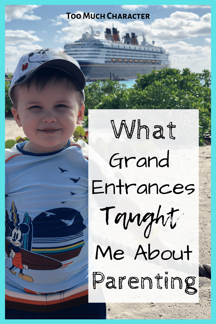What Grand Entrances Taught Me About Parenting