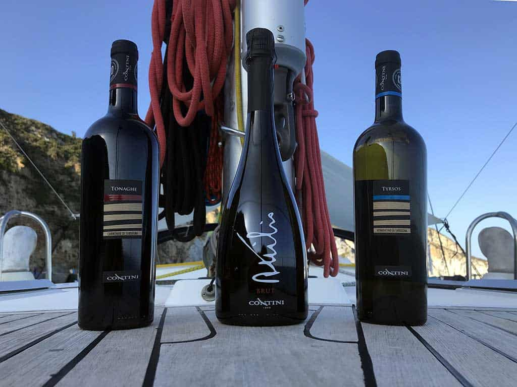 Vini Contini - Toomulti sailing