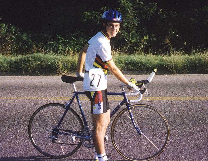 Brian Toone - Bull's Gap Time Trial 1993