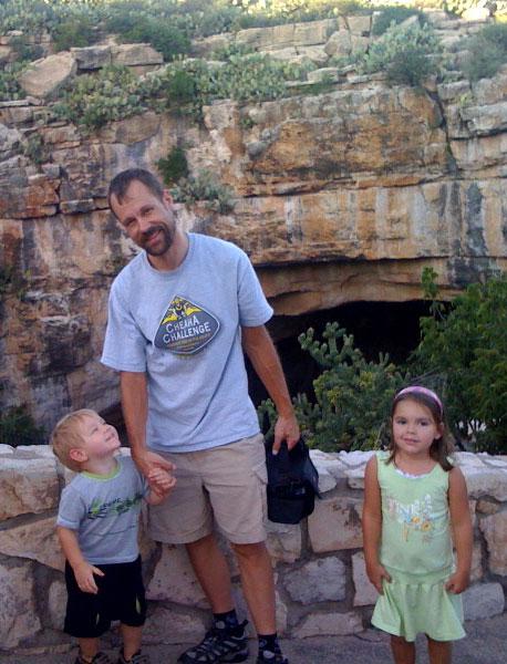 Carlsbad Caverns Before the Bat Flight