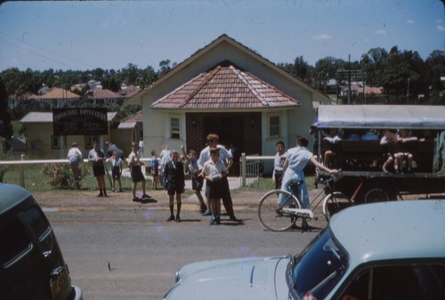1959 - John Thornley's milk truck taking boys home after Brigade