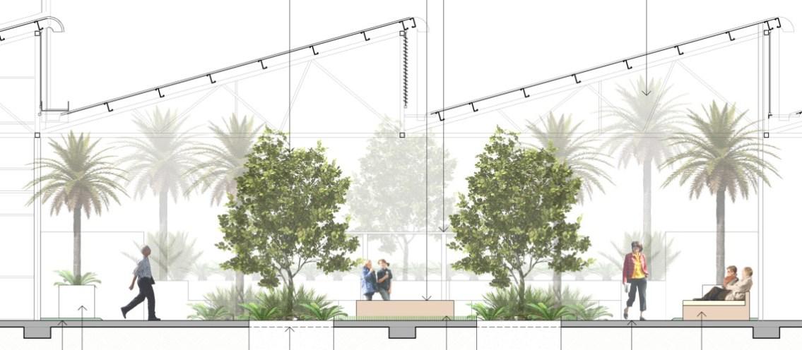Courtyard Elevation