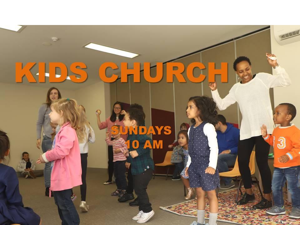 KIDS CHURCH 3