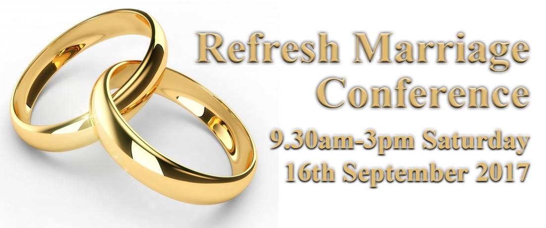 Refresh Marriage Conference 2016