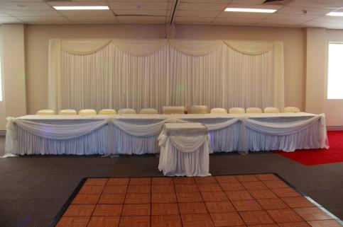 Meeting Rooms 1-4 - Cake Table and Dance Floor