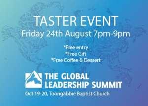 Global Leadership Summit Taster Event