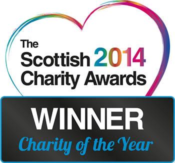 Scottish Charity Awards Logo