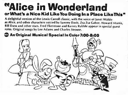 Hanna-Barbera's Alice in Wonderland