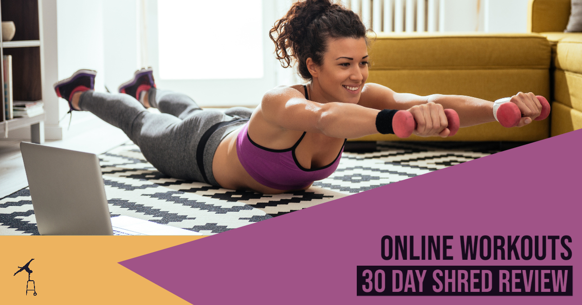 Workouts online: 30 Day Shred review