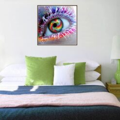 DIY New 5D Diamond Painting 2020 Beautiful Eyes Living Room Bedroom Decoration embroidery plastic craft painting