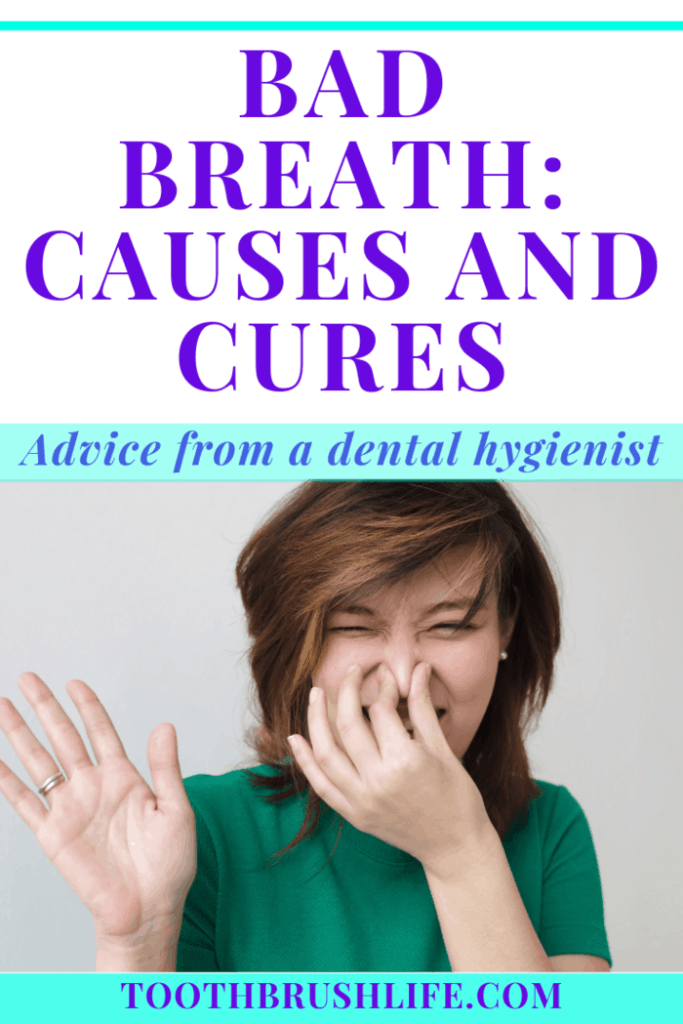 bad breath causes and cures